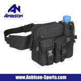 Molle militar de serviço público que acampa caminhando o saco da cintura do esporte ao ar livre