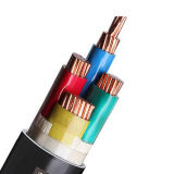 cabo distribuidor de corrente 0.6/1kv isolado PVC, cabo de fio elétrico da bainha do PVC