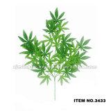 Листья оптового искусственного высокого качества листьев пластичные искусственние