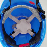 熱い販売法の安全ヘルメットのABS高力安全ヘルメットか絶縁体力Vのヘルメット