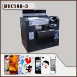 Diodo emissor de luz UV Phone Caso Printing Machine de Byc 168-3 com High Resolution