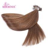 高品質のブラジルの毛6A Remyの人間の毛髪の拡張