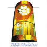 FUJI 가득 차있는 유리제 파노라마 엘리베이터