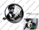 Phare LED 7 pouces de LED Wrangler Light Off Car et LED Car