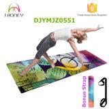 Bella stuoia piena di yoga stampata Digitahi di colore, ecologica