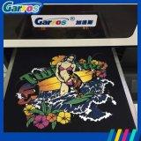 Machine blanche et noire de coton à plat de Garros 3D Digitals de la taille A3 bon marché de T-shirt d'impression à vendre
