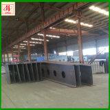 製造された金属製品は構築によって製造された溶接された鋼鉄の梁を溶接した