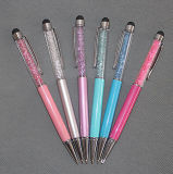 2 in 1 Universal Crystal Stylus Pen