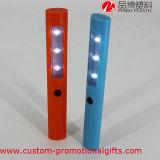 Torcia elettrica professionale di plastica del lavoro della PANNOCCHIA LED della batteria