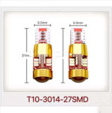 Супер яркий свет автомобиля СИД светильника ширины T10 3014 27SMD DC9-30V