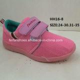 Дети закрепляют & закрепляют петлей ботинки спорта способа вскользь ботинок впрыски PVC (HH16-8)