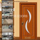 Küche-Tür, Falte-Tür, bündige Tür, PVC-Glas-Tür