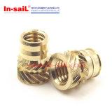 Porca de bronze da inserção do fabricante M8 do prendedor de China
