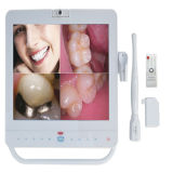 Neues Dental Equipments MP4 Function 15 Inch LCD Dental Monitor mit Oral Camera und Holder