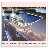 decoração do carro do cromo de 15m 49FT, guarnição moldando dos amortecedores das capas das portas de Windows