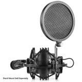 T-4 Ideal voor Radio het Uitzenden Studio/de Commentaarstem/de Correcte Schok van de Microfoon van het Metaal van de Studio/van de Opname Universele zetten op
