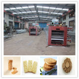 Машина печенья (100-150kg/h), печенье делая линию машин с новыми конструкциями