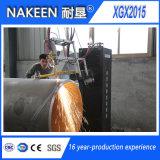 Cortadora del cartabón del tubo del CNC para los tubos grandes