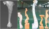 5 гравировальный станок древесины шпинделя 3D оси Multi