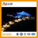 Modello della villa/modello della costruzione/modello architettonico che fa/tutto il genere di segni/modello