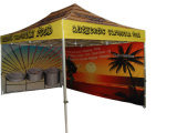 熱伝達の印刷のポリエステルおおいが付いている折るテントの避難所