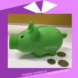 Bank PVC-Piggy Money mit Logo Printing Pb-001