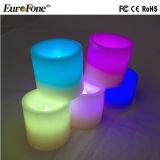 6 Größen/Sets Multicolors Paraffinwachs-Kerze-Licht für Dekoration