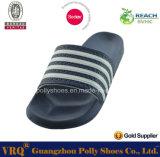 2016 Comercio al por mayor de calzado de los hombres de la PU de la sandalia del deslizador y