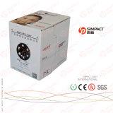 Câble approuvé de réseau de CE/RoHS/UL UTP Lszh Cm/Cmr Cat5