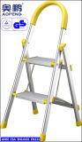 Escada de etapa Foldable telescópica das escadas da escada do andaime de alumínio (AP-2402)
