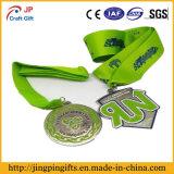 Medaille Van uitstekende kwaliteit van het Metaal van de Vorm van de douane de Onregelmatige met Sleutelkoord