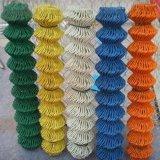 高い亜鉛コーティングが付いている緑または青またはYello PVC上塗を施してある網