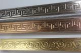 De gekleurde Roestvrij staal In reliëf gemaakte Pijp van de Decoratie