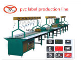 Etiqueta do logotipo do PVC 3D da capacidade elevada que faz a máquina
