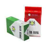 Private Model Cigarette Fall Shape Mobile Power Banken mit Ce/RoHS