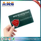 RFID, das Karten für das elektronische Diebstahl-Schützen blockt