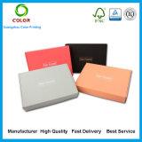 Caja de cartón acanalado del color de la impresión de las ventas al por mayor