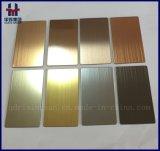 회색 까만 실내 장식을%s 티타늄에 의하여 착색되는 스테인리스 평야 장