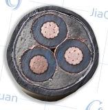 El conductor de cobre XLPE aisló el cable de transmisión forrado PVC del alambre de cobre