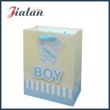 Personalizzare il documento Ivory 3D & brillare borse del documento del regalo di acquisto del bambino