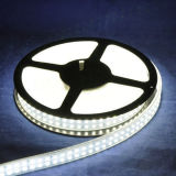 Tira flexible ligera doble del tubo 2835 LED de la fila los 240LEDs/M