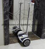 Twee-wiel Zelf In evenwicht brengende Slimme Elektrische Autoped met Autoped van de Staaf van het Handvat de Zelf In evenwicht brengende