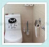 Pulitore di spazzola della toletta degli accessori della stanza da bagno con il supporto