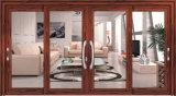 Schiebendes Aluminiumfenster mit reflektiertem Glas-/Aluminiumwindows (CL-W1005)