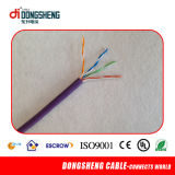 Cable del cable UTP Cat5e de la red