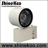 Diodo emissor de luz de alumínio Tracklight da ESPIGA do círculo 20W
