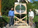 grande Fresnel lente acrílica de 1000mm*1000mm para o painel solar (HW-F1000-5)