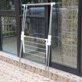 Kleedt het Verlengbare x-Type van roestvrij staal Drogende Hanger