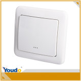 Commutateur à la maison intelligent à télécommande blanc de WiFi