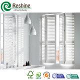 Otturatore bianco personalizzabile della finestra del PVC della piantagione